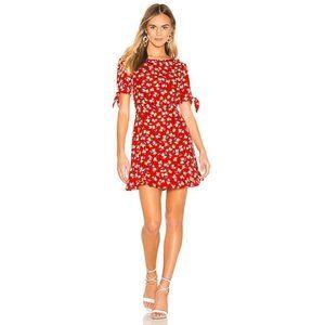 Faithful the Brand Daphne Floral Print Mini Dress